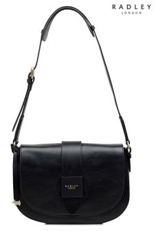 Radley Black Medium Shoulder Flap Over Bag