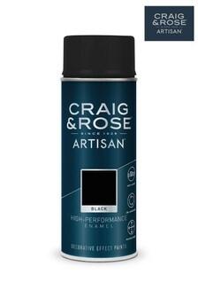 Black Craig & Rose Enamel Spray Paint