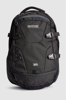 Paladen Black 35L Backpack