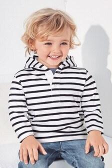 Long Sleeve Stripe Hoody (3mths-7yrs)