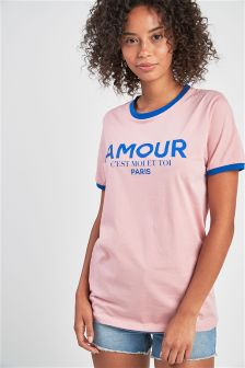 Amour Logo T-Shirt