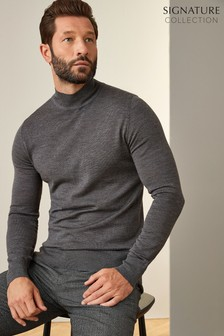 Signature Turtle Neck Jumper