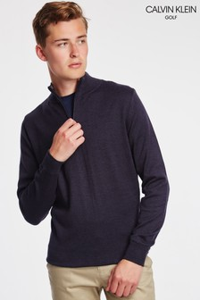 Calvin Klein Golf Heather Half Zip Jumper