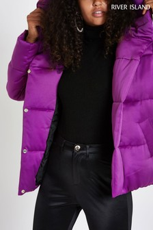 River Island Purple Padded Jacket