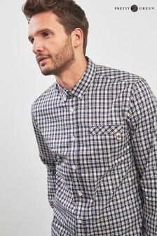 Pretty Green Huckberry Check Shirt