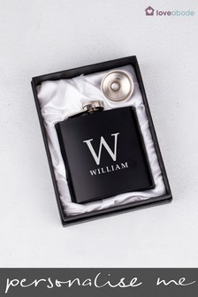 Personalised Name Hip Flask by Loveabode