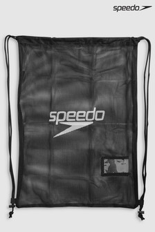 Speedo® Black Mesh Kit Bag