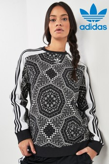 adidas Originals Black Print Sweat