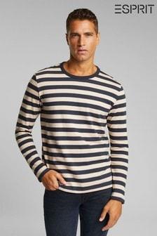 Esprit Blue Men's Long Sleeve T-Shirt