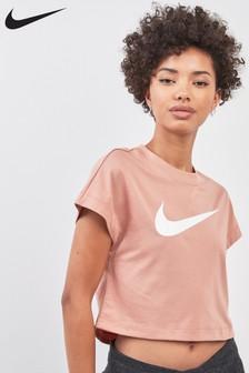 Nike Swoosh Cropped Tee