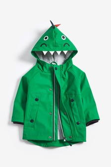 the best attitude 87fba 49f7f Green Dinosaur Anorak (3mths-7yrs)
