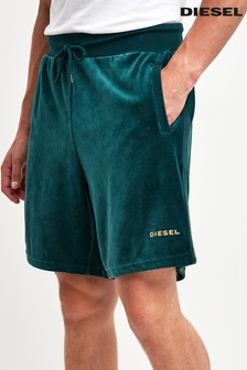 Diesel® Green Velour Short