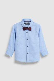 Рубашка в мелкий горошек (3 мес.-7 лет)