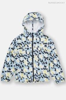 Angel & Rocket Flower Animal Print Windcheater Jacket