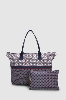 Fold-Away Beach Bag