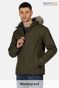Regatta Green Haig Waterproof Jacket