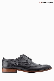 Base London® Black Motif Brogue