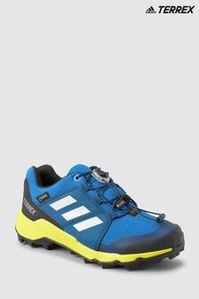 Baskets adidas Trail Terrex GTX bleues Junior & Youth