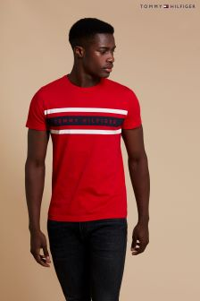Tommy Hilfiger Logo Band Graphic T-Shirt