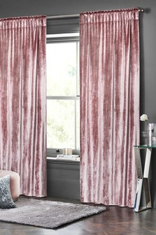Plush Velvet Pencil Pleat Curtains