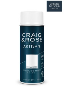 White Craig & Rose Enamel Spray Paint