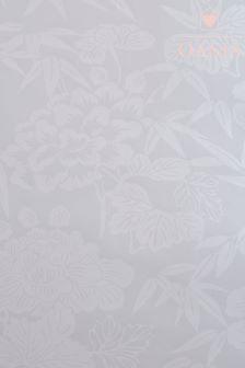 Oasis Jasmin Silver Wallpaper
