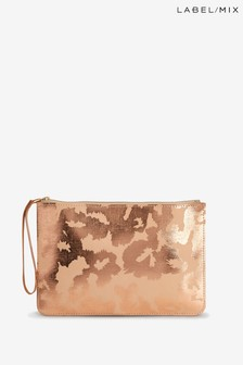 Mix/Joanna Vanderpuije Large Hand Printed Clutch