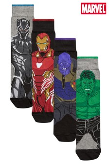 Pattern Socks Four Pack