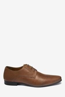 Zapatos de vestir encerados