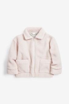 Куртка на молнии с подкладкой «под овчину» (3-16 лет)