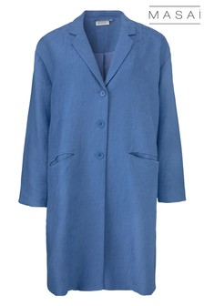 Masai Blue Tura Coat