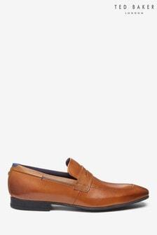 Jasnobrązowe buty mokasyny Ted Baker Gaelah