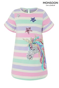 Monsoon Elouise Unicorn Dress