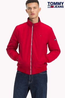 Tommy Jeans Red Padded Bomber