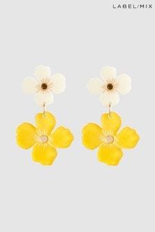 Mix/Wolf & Moon Poppy Earrings