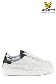 Lyle & Scott White Mackay Trainer