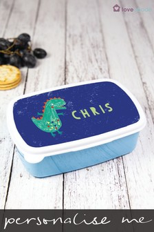 Personalised Dinosaur Sandwich Box by Loveabode