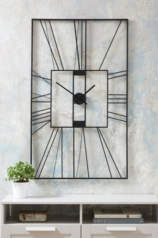 XL Rectangle Outdoor Clock
