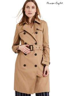 Phase Eight Neutral Catie Trench Coat