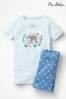 Boden Blue Fun Short Pyjamas