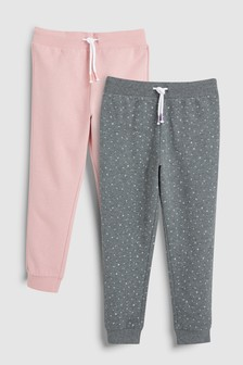 Pink                     Joggers Two Pack (3-16yrs)