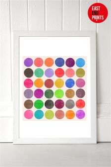 Colourplay 15 by Garima Dhawan Framed Print