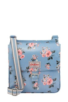 Cath Kidston® Blue Grove Bunch Tab Saddle Bag