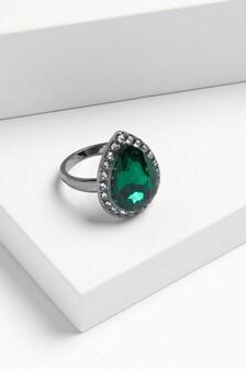 Pavé Jewel Cocktail Ring