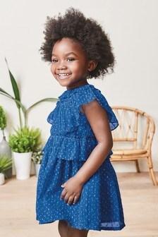 Chiffon Ruffle Dress (3mths-7yrs)