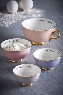 Набор из 4 мерных стаканчиков
