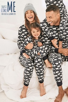 Just Like Me Womens Polar Bear Pyjamas