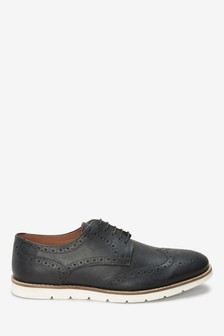 Wedge Sole Brogue