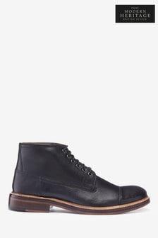 摩登復古包頭靴