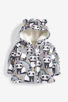 Panda Print Fleece Jacket (0mths-2yrs)